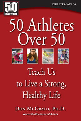50 athletes over 50 book cover